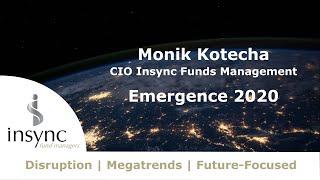 Monik Kotecha presents at Emergence 2020