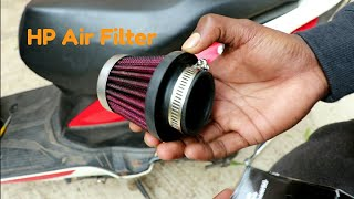 Install HP Performance Air Filter On Honda Dio Scooty |Change Sound  Modified Scooty | Modified Dio