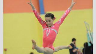 Annie The Gymnast | Level 7 State Gymnastics Meet 2015 | Acroanna