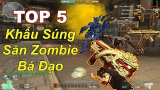 TOP 5 Khẩu Súng Săn Zombie Khủng Nhất ĐỘT KÍCH | TQ97