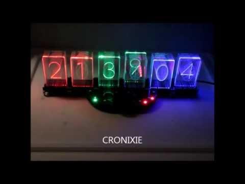 CRONIXIE the LED Nixie clock