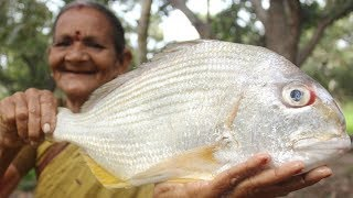 Grunter Fish Recipe || How to Cook Grunter Fish by My Grandmother || Myna Street Food