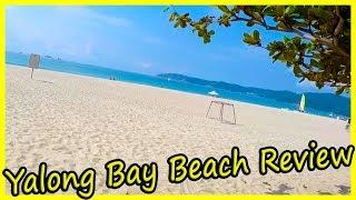 Best Beach in Hainan, China 2019. South China Sea Review 2019. Yalong Bay Beach Review