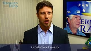 Requião Filho defende petróleo nacional, refinado e vendido no Brasil