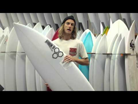 Channel Islands Black & White Surfboard Review