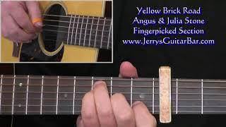Angus And Julia Stone Yellow Brick Road Intro Lesson