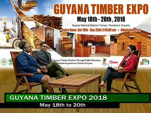 Guyana Timber Exposition GTE 2018, May 18 - 20 (May 17, 2018)