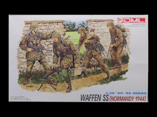 DRAGON 6003 1//35 GERMAN COMBAT UNIT NORMANDY 1944