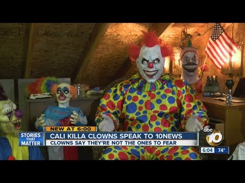 Cali Killa Clowns Defend Local Scares But Say Don't Trust Clowns At Night