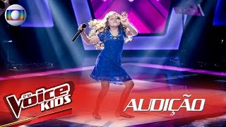 Flavia Scanuffo Canta 'Splish Splash' Na Audição – The Voice Kids Brasil | 2ª Temporada