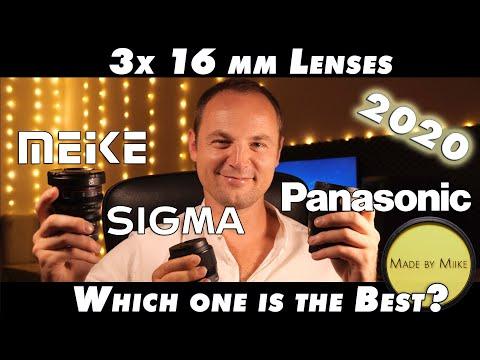 Shootout + Opinion: Sigma 16mm F1.4 vs. Meike 16mm F2.2 vs. Panasonic 12 - 35mm F2.8 (on Pana GH5S)