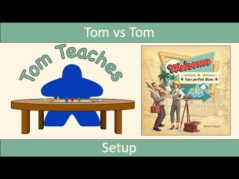 Tom Teaches Welcome To... (Setup)