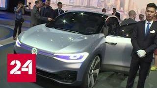 В Китае начал работу Шанхайский автосалон