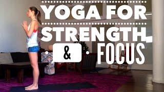 Yoga for Strength and Focus by TaraStiles