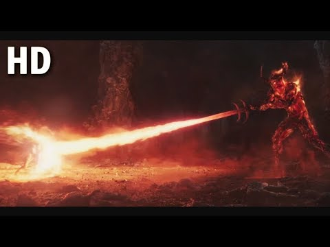 Thor VS Surtur Full Fight (Opening Scene) Thor Ragnarok Movie 2017