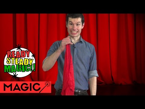 Magic Pet Handkerchief Does Tricks | Ready Steady Magic