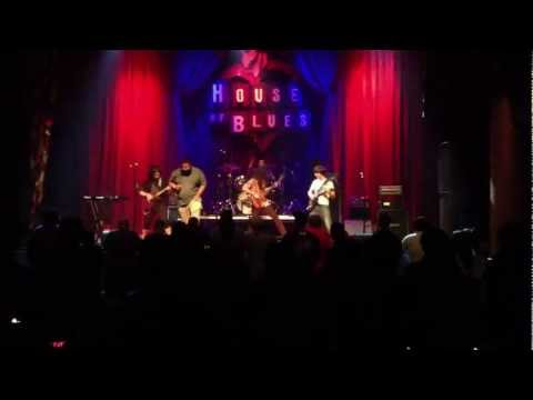 Horde of Sirens - Earth Movers @ House of Blues 12.23.12