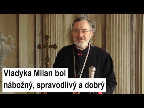 Príhovor arcibiskupa Ihora Vozňaka: Myslím si, že vladyka Milan Šášik už bol pripravený odísť