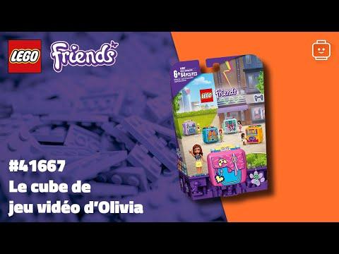 Vidéo LEGO Friends 41667 : Le cube de jeu vidéo d'Olivia