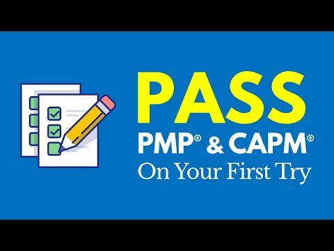 How to Pass the PMP® & CAPM® Exam on the First Try - YouTube