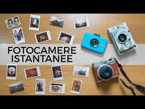 INSTANT CAMERA: quale comprare? Comparazione e recensione POLAROID, FUJIFILM e LOMOGRAPHY
