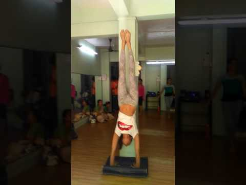 acrobatics done by POOJA misra