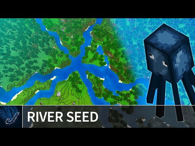 Minecraft PE 1 7 Seeds: 6-WAY RIVER CONNECTION SEED for