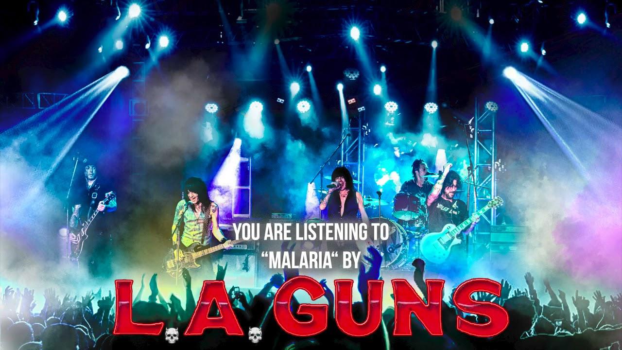 LA GUNS - Malaria (live)