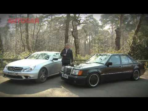 Mercedes 500E & CLS 63 AMG by autocar.co.uk