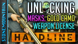 Battlefield Hardline How to Unlock Masks, Weapons License, & Gold Camo - Block Blood Money Gameplay