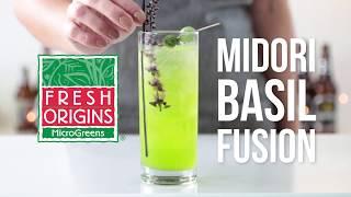 Fresh Origins Microgreens Midori Basil Fusion