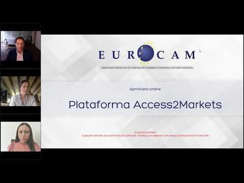 ¿Cómo exportar a la Unión Europea? Conoce la plataforma Access2Markets