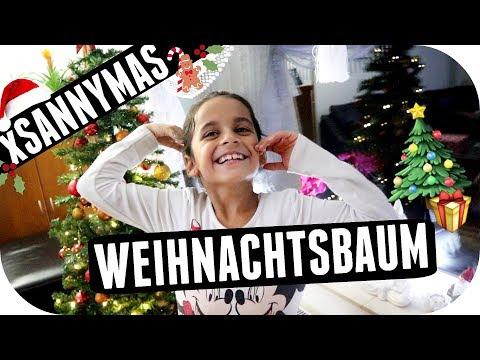BESUCH von meinen NICHTEN ❤️ Wir stellen den Weihnachtsbaum auf! - xSannyMas '18 | Sanny Kaur