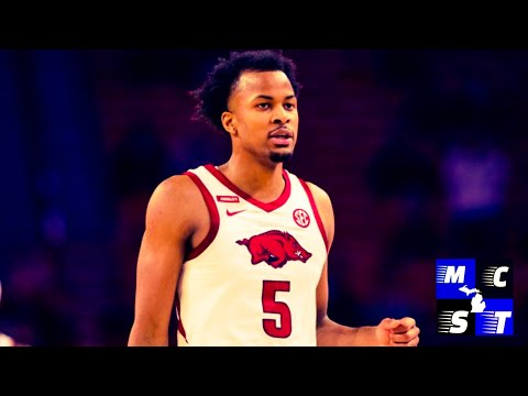 (Draft Spotlight) Arkansas SG Moses Moody!!!