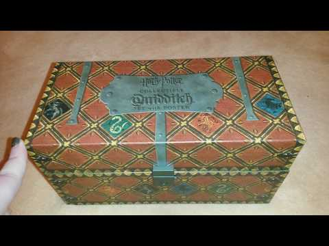 Harry potter Collectable Quidditch Set review!- Emma Cosgrove.