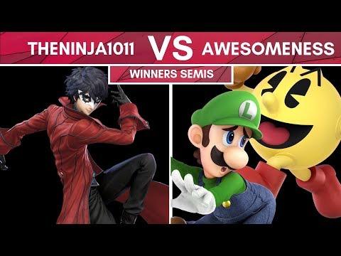 TUT#15 : theninja1011 (Joker) vs awesomeness (Luigi, Pacman) - Winners Semis