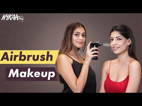 Airbrush Makeup Technique Ft. MUA Deepal Haria | Step By Step Full Makeup Tutorial | Nykaa