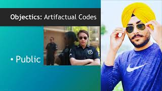 Nonverbal Code: Objectics (Artifacts)