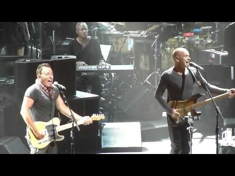 Bruce Springsteen Sting Birthday - Can't Stand Losing You
