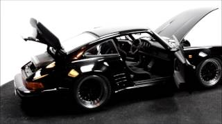 AUTOart Porsche 911 (930) Turbo Wangan Midnight