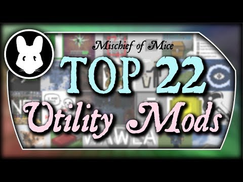 TOP 22 Utility Mods for Minecraft! Bit by Bit by Mischief of Mice!