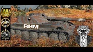 RHM #14 World of Tank Blitz Aced gameplay 5100 DMG +Ammorack Montage