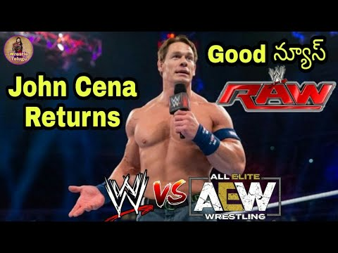 John Cena Returns 2019 / WWE Raw Reunion 2019 / WWE Vs AEW 2019, WWE Video