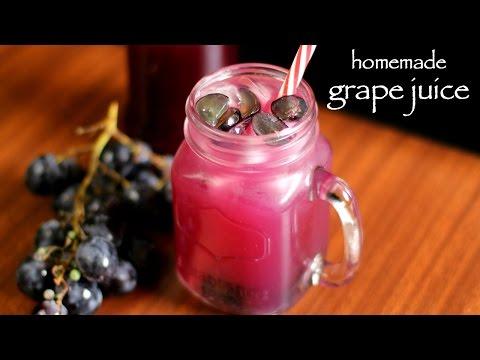 Video grape juice recipe | grapefruit juice recipe | homemade black grape juice