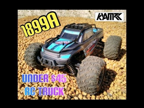 KYAMRC 1899A 1/16 4X4 RC TRUCK, Great Rc Truck for under $45