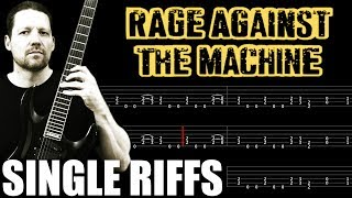 Down Rodeo RATM : Guitar Tab + Lesson