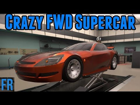 Automation Challenge - Crazy FWD Supercar