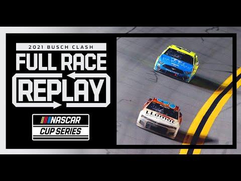 NASCAR 2021 フルレース動画 - Busch Clash at DAYTONA
