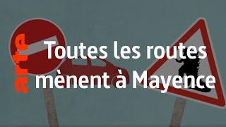 Les plaques de rues à Mayence - Karambolage - ARTE