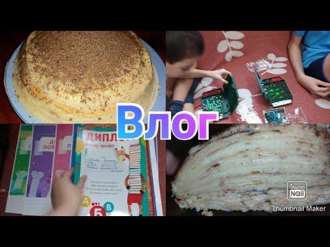 Блинный торт рецепт / Оформляю портфолио / Сварила борщ / Покупки в Магните / Anika Z влог